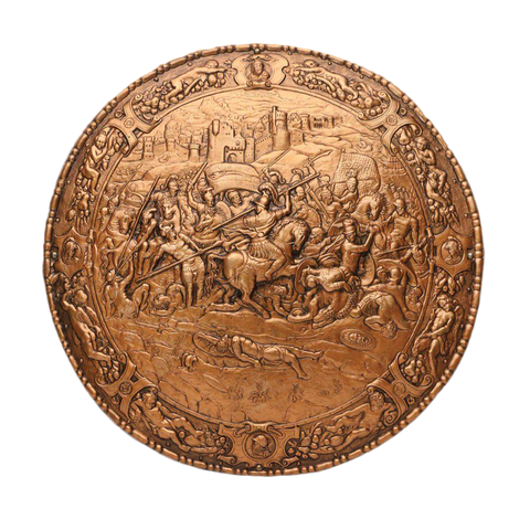 Philip of Spain Embossed Spanish Shield