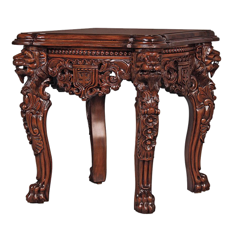 Lord Raffles Grande Hall Lion Leg Side Table
