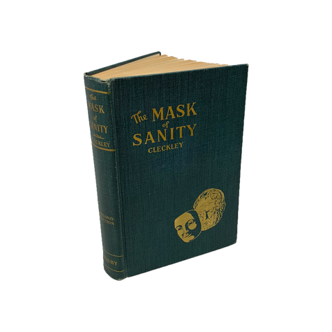 The Mask of Sanity by Hervey Cleckley, 2nd edition, vintage 1950