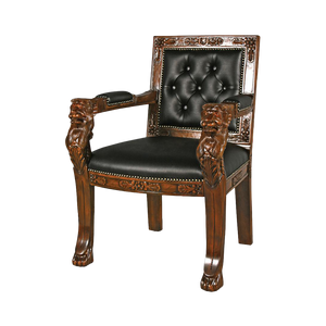 Beardsley Leather Lion Chair
