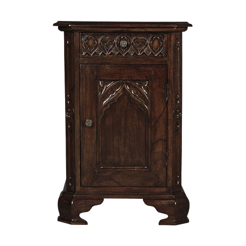 Queensbury Inn Gothic Revival Bedside Table