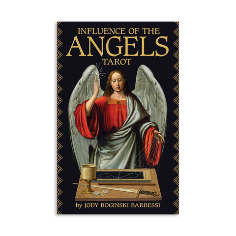 Influence of the Angels tarot by Jody Boginski Barbessi
