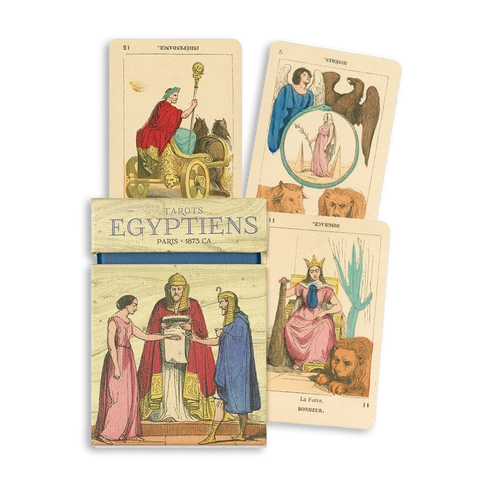 Tarots Egyptiens deck