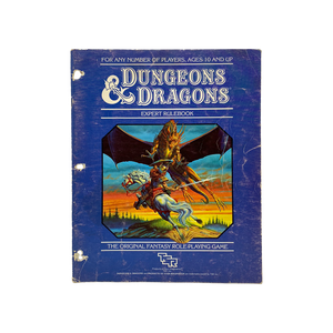 "Vintage 1983 ""Expert Rulebook"" D&D guide book"