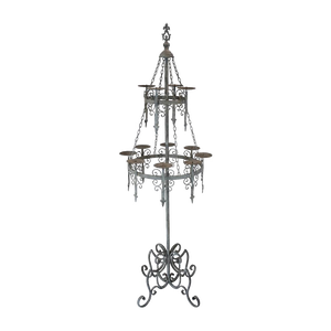 Gothic floor candelabra of the Teutonic Hochmeister