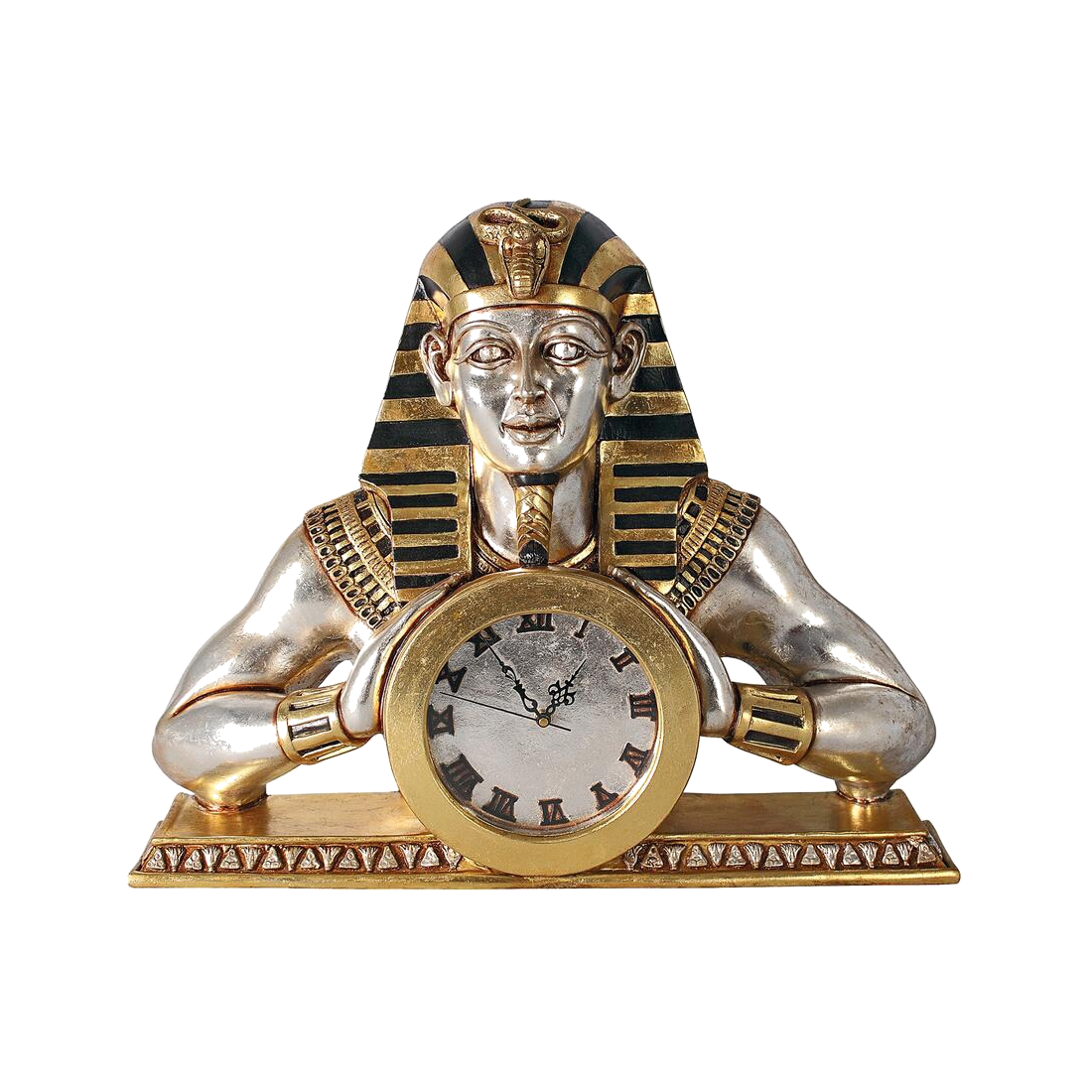 Temple of Heliopolis Mantle Clock