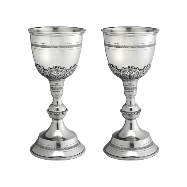 Grand Chalice of Italian Pewter