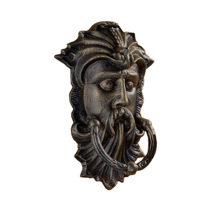 Celtic Green Man, antique replica door knocker