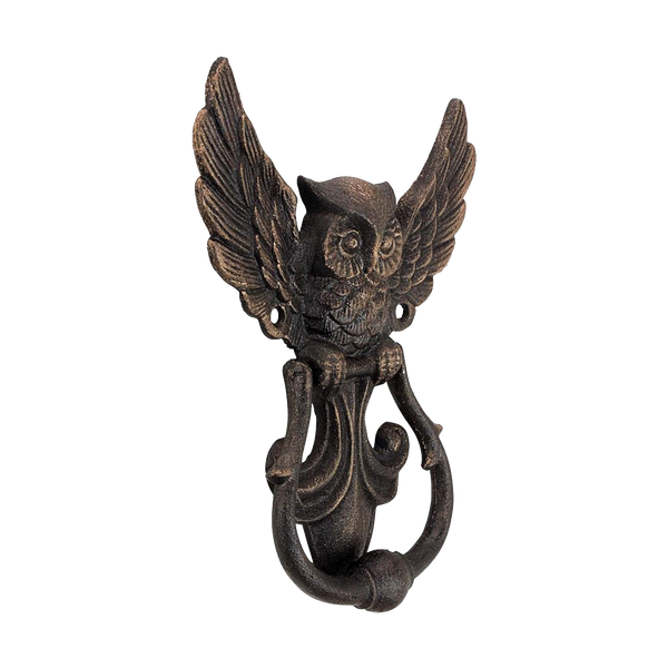 Night Guardian Door Knocker