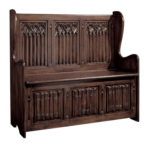 Kylemore Abbey Gothic Bench