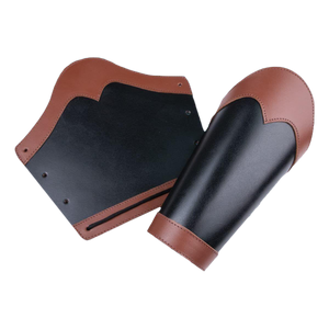 Huntsman Leather Vambraces