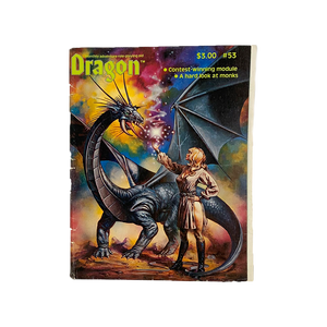 Vintage 1981 Dragon magazine #53