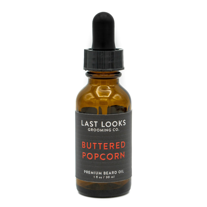 Last Looks Grooming Beard Oil Buttered Popcorn