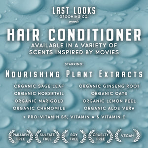 Last Looks Grooming What The Cuss Hair Shampoo and Conditioner Inspired By Fantastic Mr. Fox