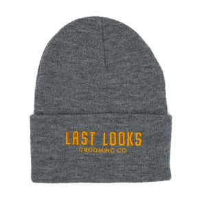Last Looks Grooming Apparel Beanie Hat Heather Grey