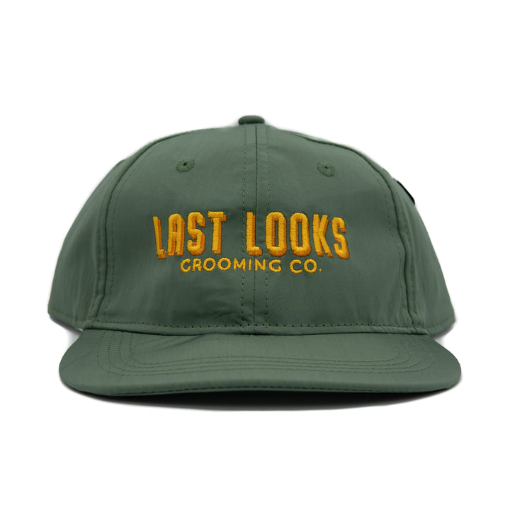 Last Looks Apparel Folding Hat Olive Water Resistant