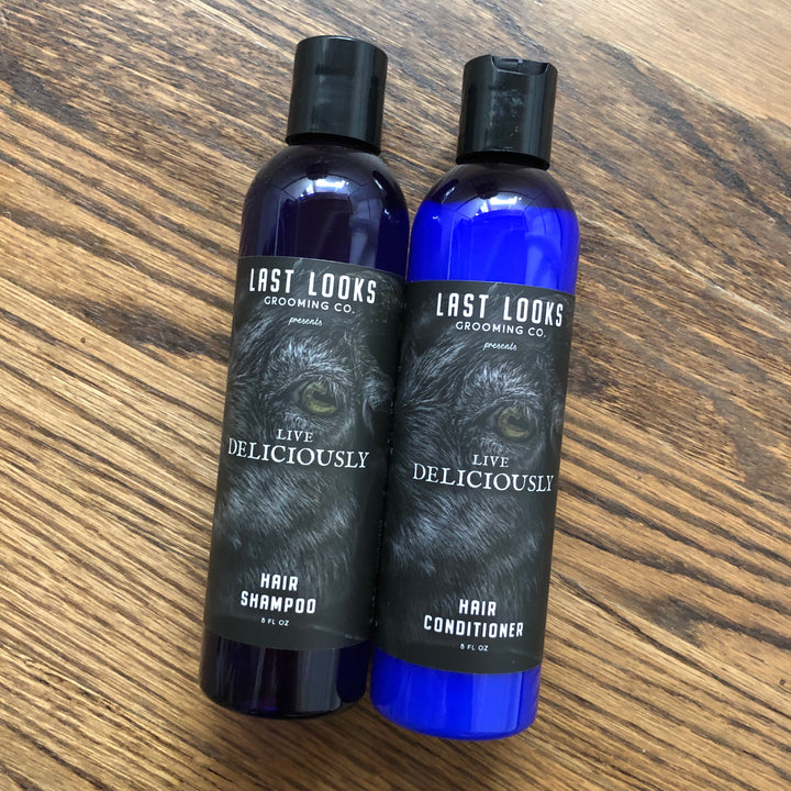 Last Looks Grooming Live Deliciously Hair Shampoo and Conditioner Inspired By The Witch