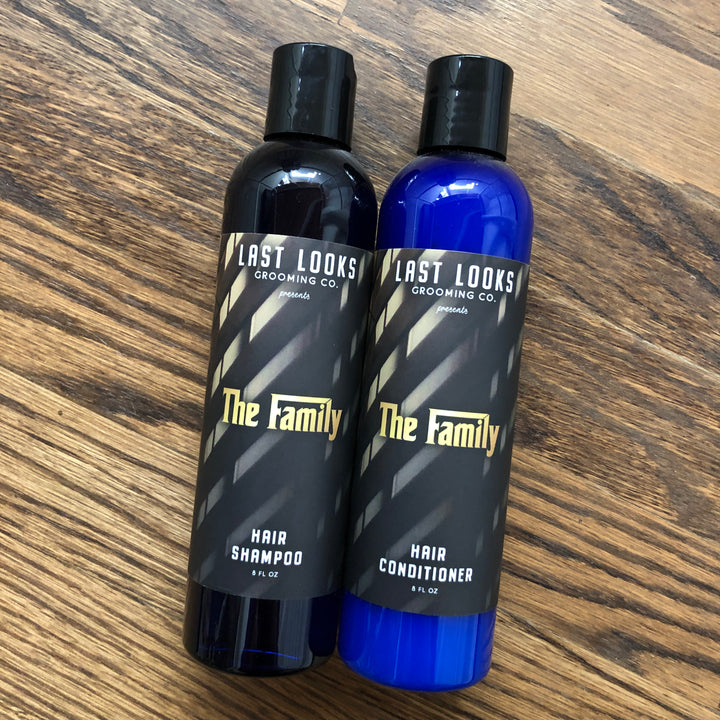 Last Looks Grooming The Family Hair Shampoo and Conditioner Inspired By The Godfather