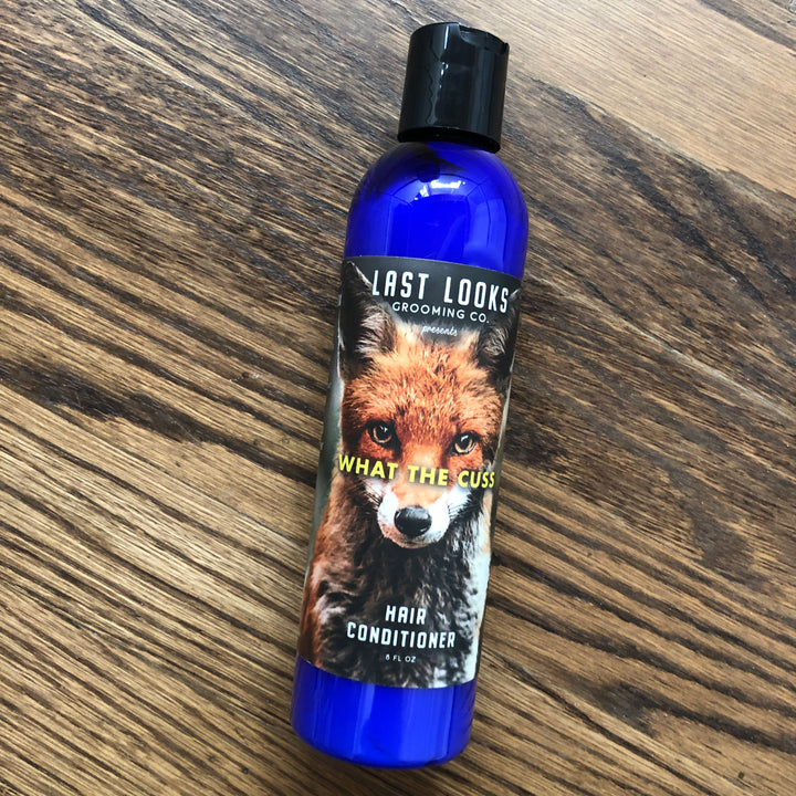 Last Looks Grooming What The Cuss Hair Conditioner Inspired By Fantastic Mr. Fox