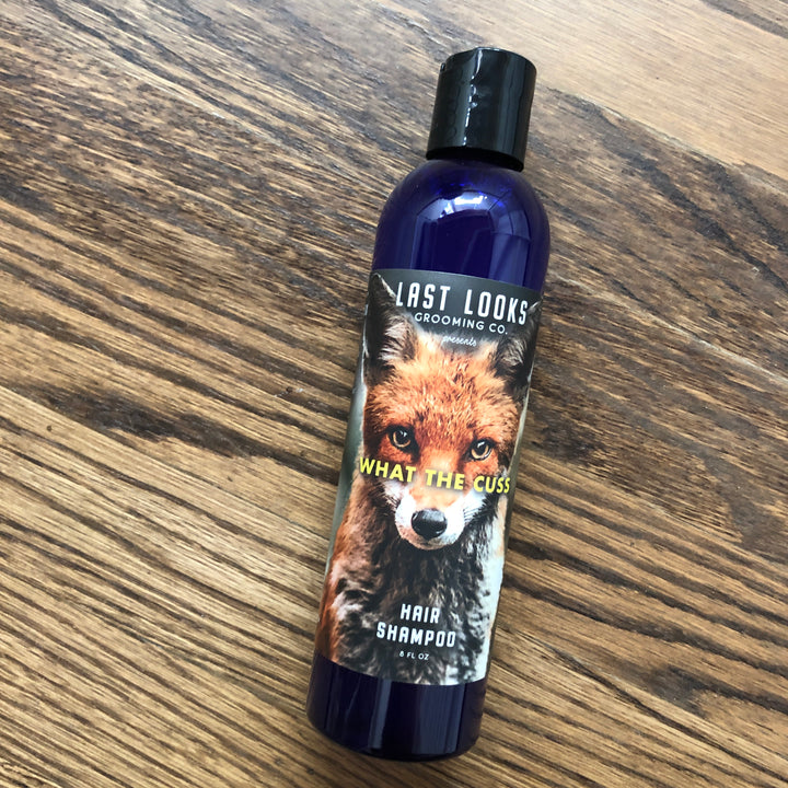 Last Looks Grooming What The Cuss Hair Shampoo Inspired By Fantastic Mr. Fox