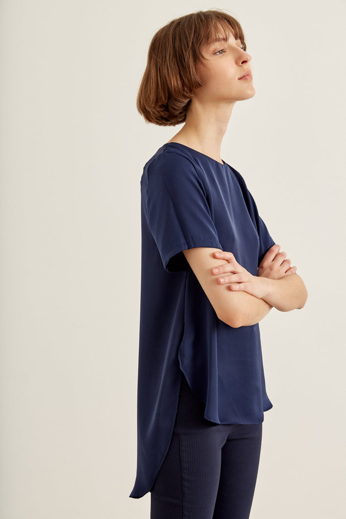 Blusa Brooklyn Navy