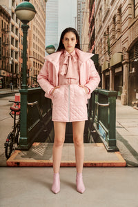 Falda Boston Rosa