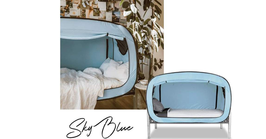 Sky Blue Bed Tent