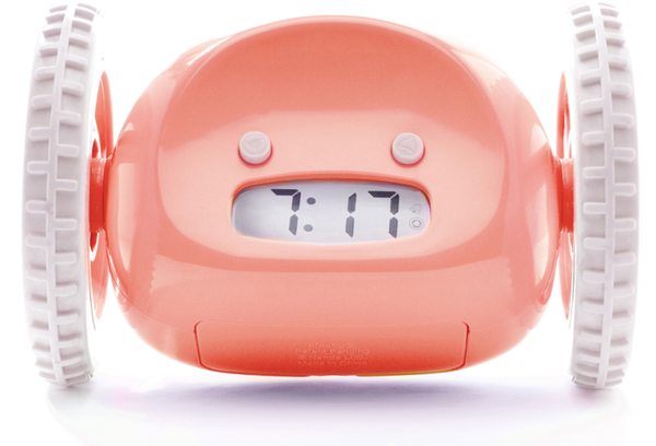 CLOCKY The Runaway Alarm Clock Privacy Pop