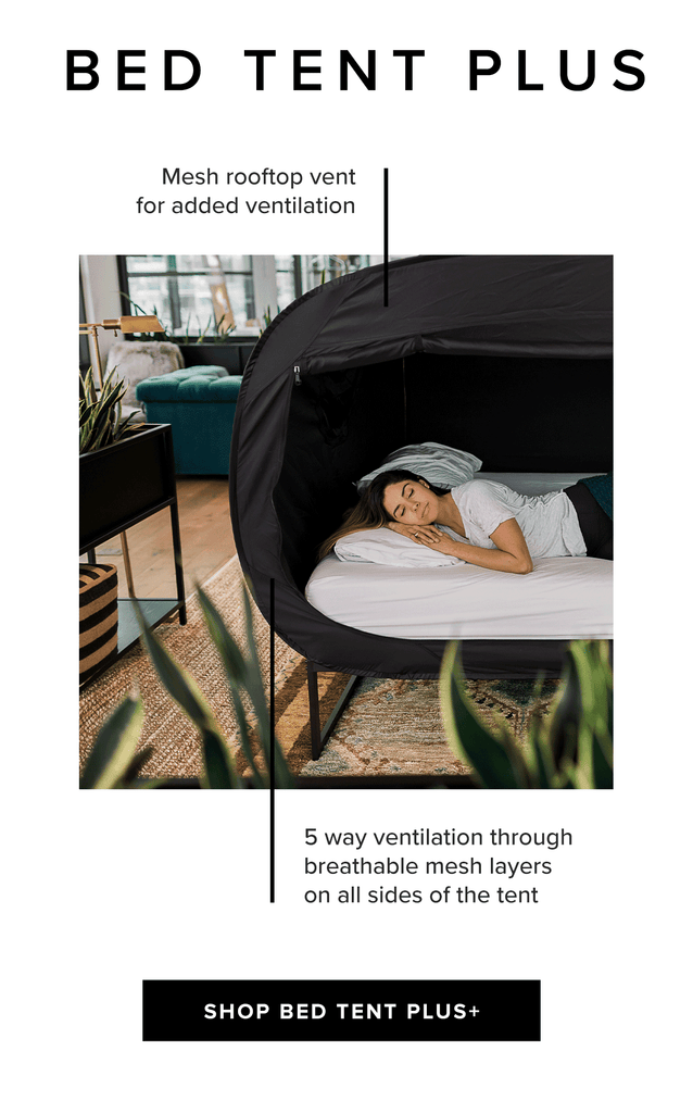 Privacy Pop Bed Tent Plus Features Sleep