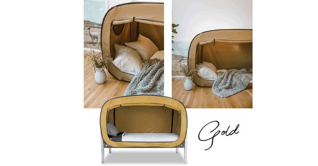 Gold Bed Tent