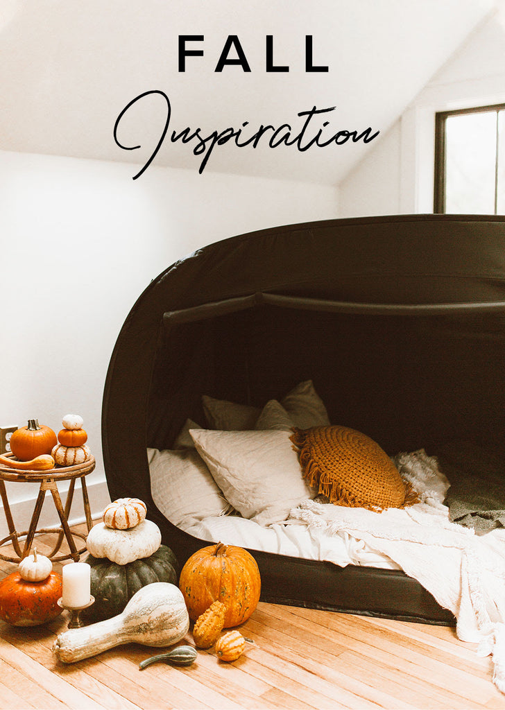 The Perfect Fall Decor Privacy Pop Bed Tent