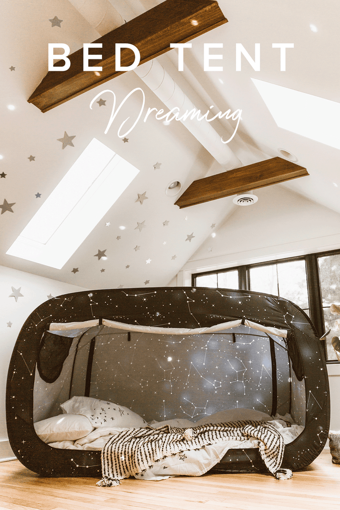 Inspired By Nature Privacy Pop Bed Tent Starry Constellation