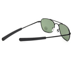 American Optical® - Original Pilot Sunglasses, Silver & Gray