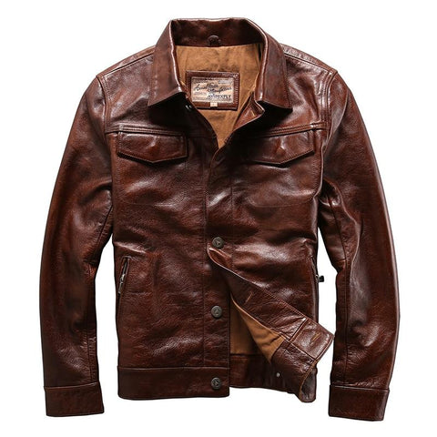 """DALSTON"" - Genuine Leather Jacket"