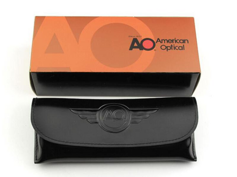 American Optical® - Leather Carry Case