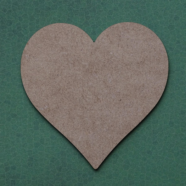 2mm mdf Heart Shapes