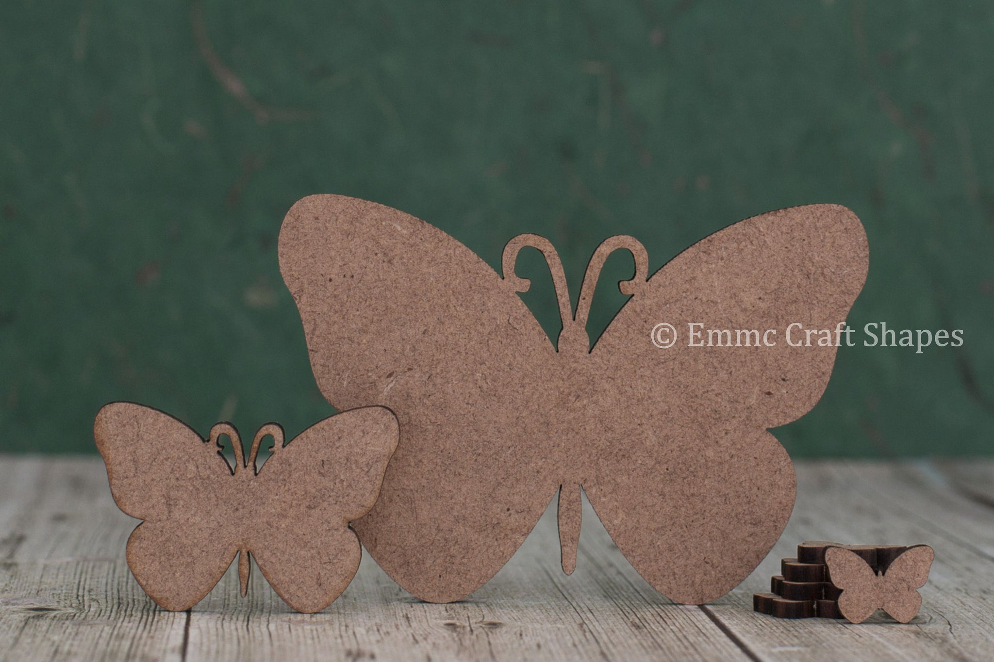 Butterfly craft blanks - 2mm Mdf