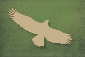 Laser cut, blank wooden Eagle 2 shape for craft