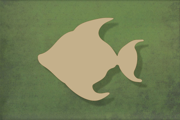Laser cut, blank wooden Fish plain shape for craft