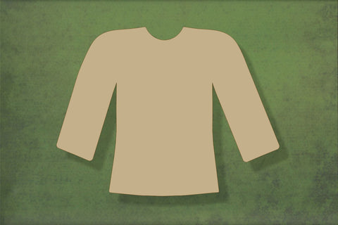 Laser cut, blank wooden Jumper 1 shape for craft