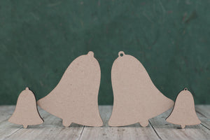 Mdf bell shapes for craft and plaques
