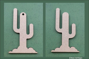 Cactus shapes - 3mm MDF