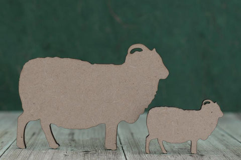 3 mm MDF Sheep Blank