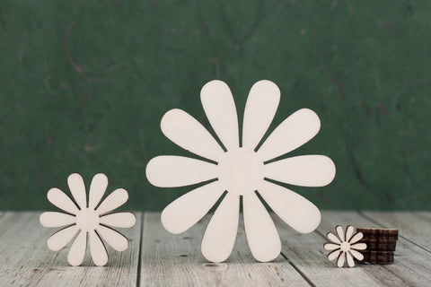 4 mm Plywood Daisy shapes