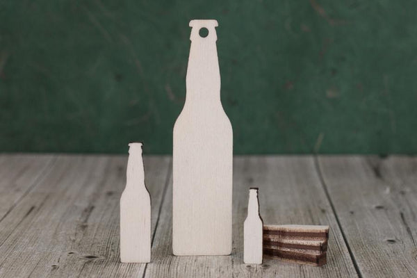 4 mm Plywood Beer Bottles