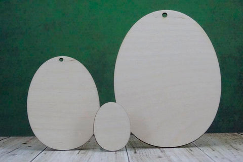 Plywood Egg Shapes