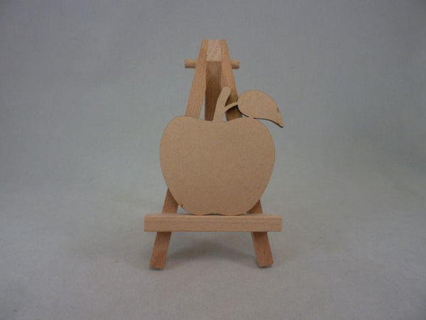 3mm MDF Blank apple craft shape
