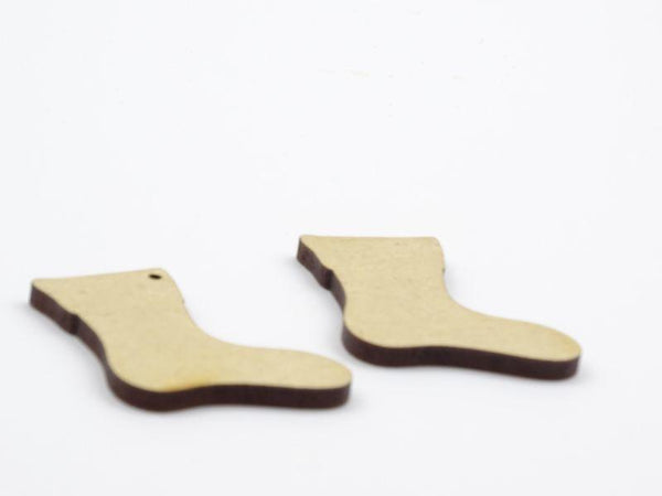 3mm MDF Stocking Blank - with and without hanging hole
