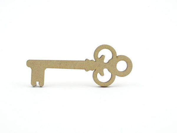 3mm MDF Key Shape - 9 cm