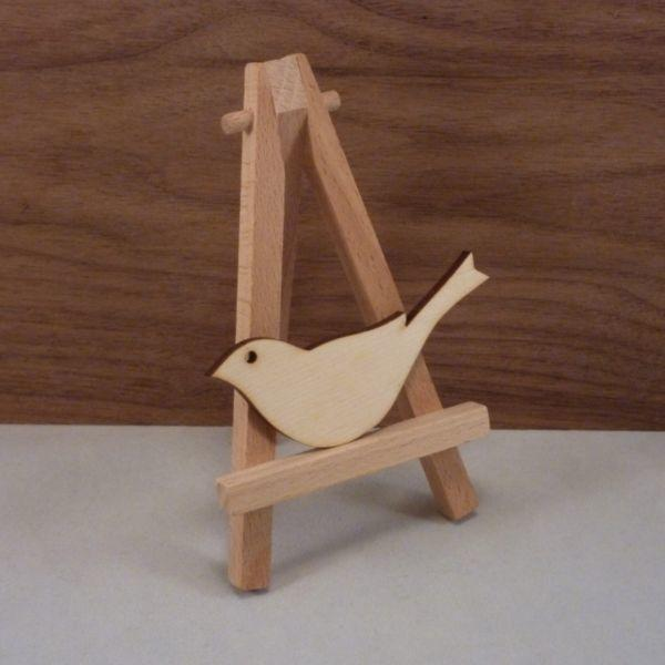 4 mm Plywood Bird with hanging hole